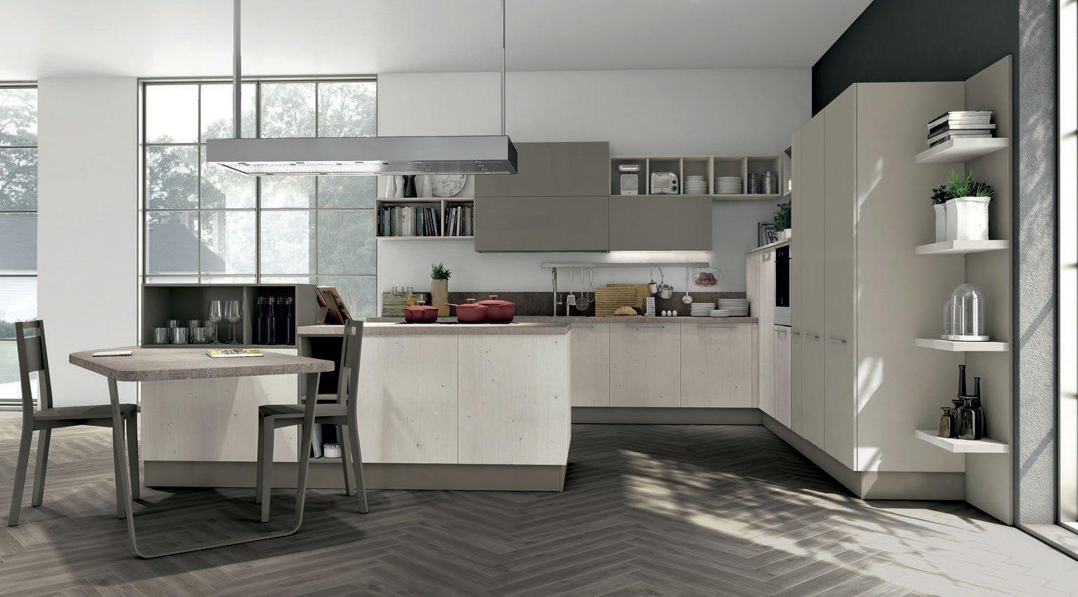 Lube presenta la nuova cucina Clover | Sarracino Mobili