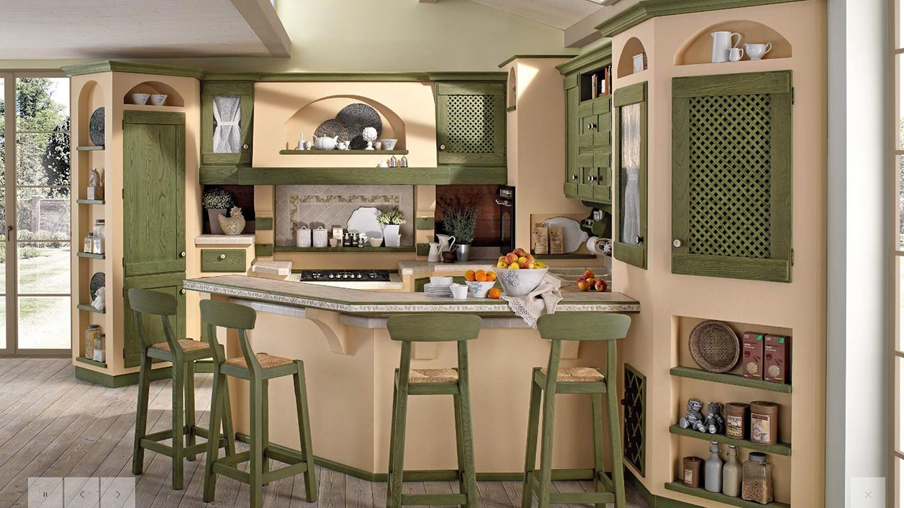 Awesome Cucine Finta Muratura Lube Images - Home Design Ideas 2017 ...