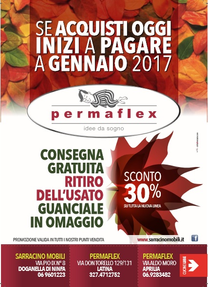 promozione-permaflex-autunno-2016-sarracino