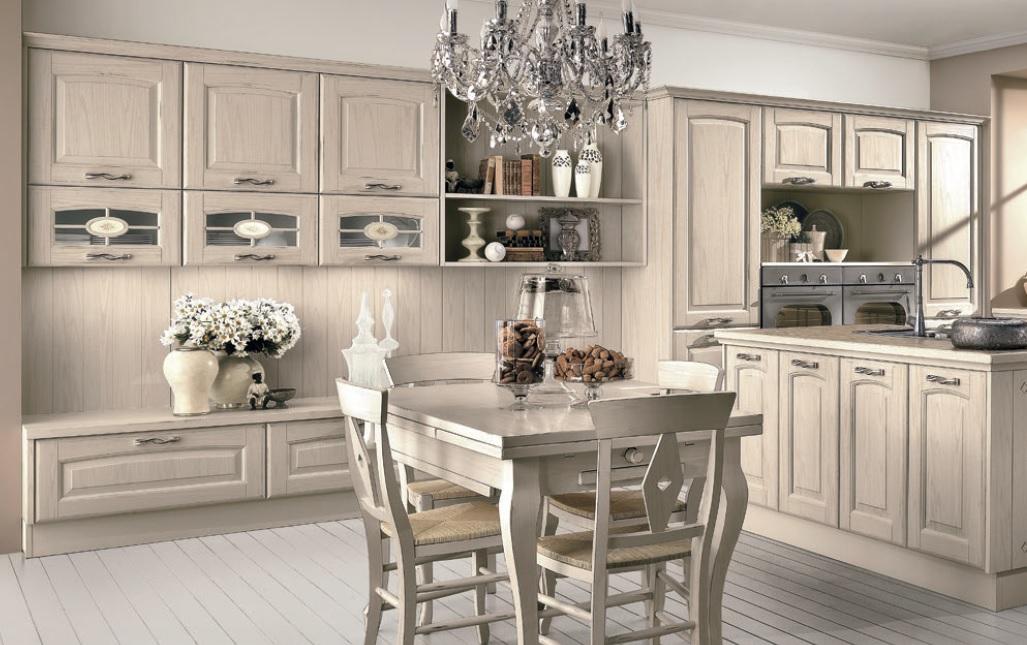 Cucina e living in un\'unica composizione da lube | Sarracino Mobili